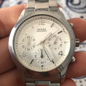 Guess Accessories - Silver GUESS Wrist Watch